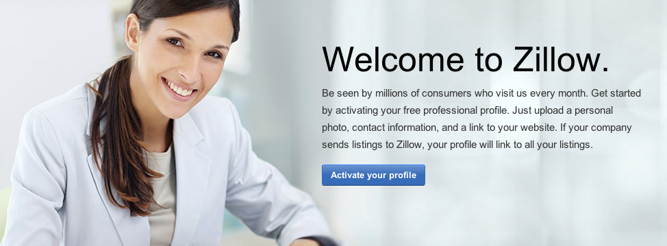 Activate Your Profile on Zillow
