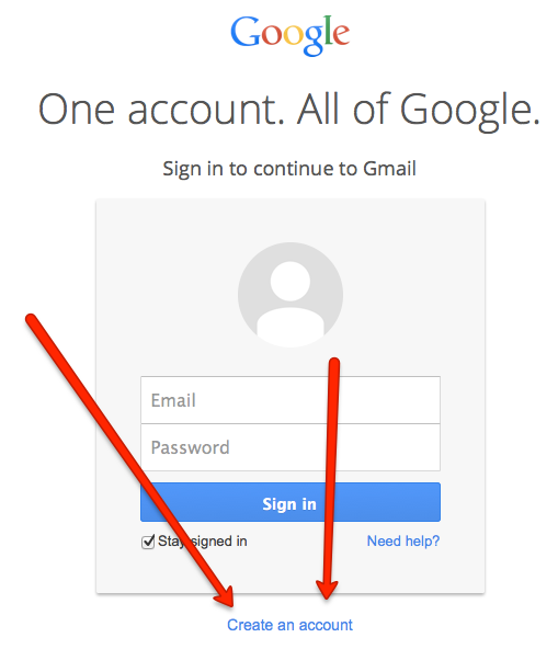 Set Up Your Google Gmail Account