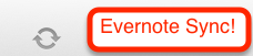 Evernote Sync in Evernote Real Estate Basics