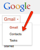 How to Access Google Gmail's Contacts
