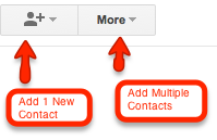 How to Add New Contacts to Google's Gmail