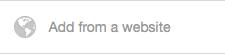 Add a Pinterest pin from a website