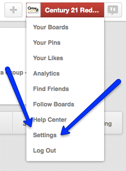 How to Find Settings in Pinterest