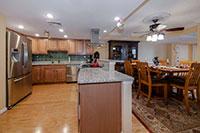 Arlington VA gourmet kitchen