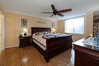 Bedroom in Arlington VA condo
