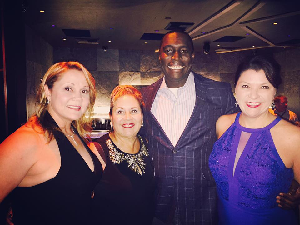 Billy Ekofo with Dawn Tollus, Iris Burkart and Cynthia Kinsella Greenya C21 Redwood Las Vegas