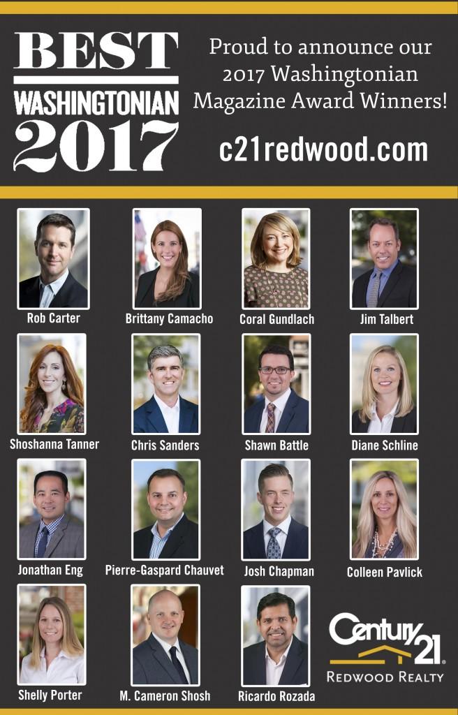 2017 Best of Washingtonian Magazine