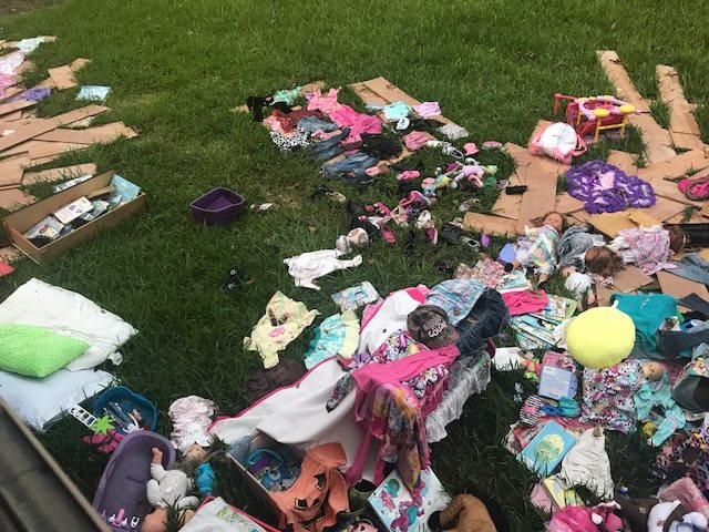 Children's Items Destroyed Hurricane Harvey, C21 Redwood