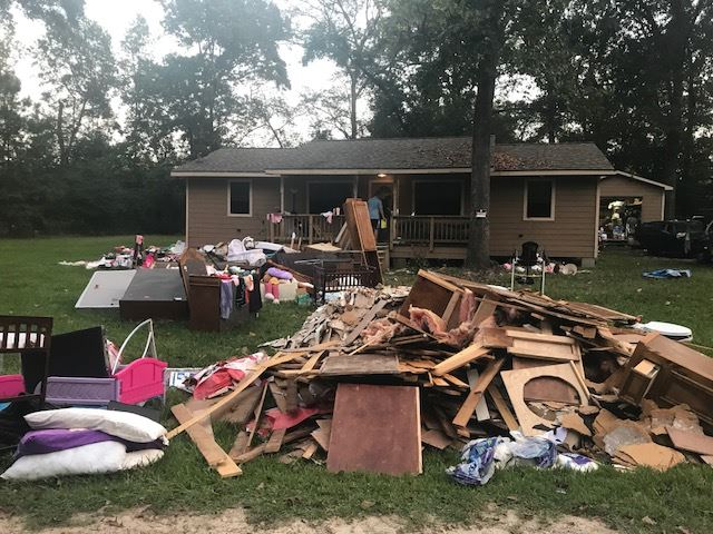 House Destroyed Hurricane Harvey, C21 Redwood